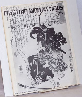 Fighting Woman News: vol. 1, #12, November 1976. Valerie Eads, Janet Aalfs Barba Watson, Sunny Graff