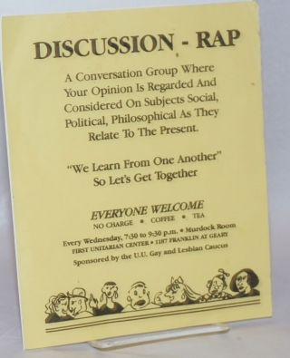Discussion - Rap: a conversation group where your opinion is regarded and considered on subjects...