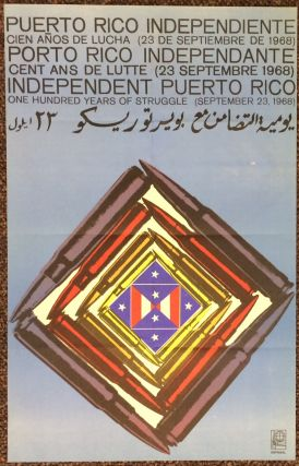 Independent Puerto Rico: one hundred years of struggle (September 23, 1968) [poster