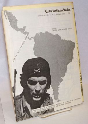 Center for Cuban Studies Newsletter: vol. 1 no. 6, November 1974