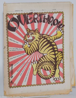 Overthrow: A Yippie Publication. Vol. 8, no. 1 (Spring 1986