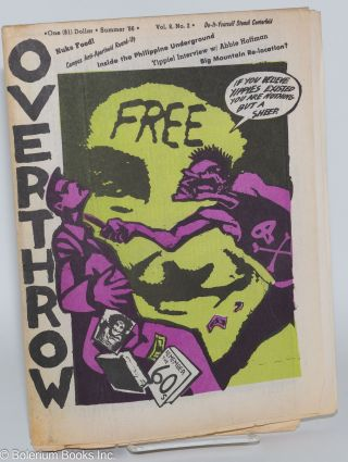 Overthrow: A Yippie Publication. Vol. 8, no. 2 (Summer 1986