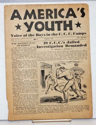 America's youth, voice of the boys in the C.C.C. Camps. Vol. 3, no. 2, March 1936. Chester Alan...