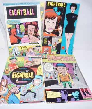 Eightball [9 issues] Nos. 5, 6, 8, 9, 11, 14, 15, 16, 19