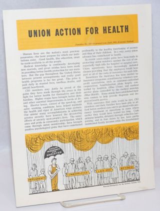 Union action for health. Congress of Industrial Organizations