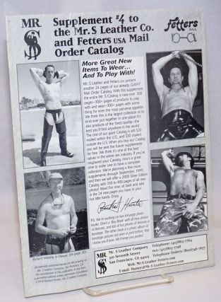 Supplement #4 to the Mr. S Leather Company, Fetters Mail Order Catalog
