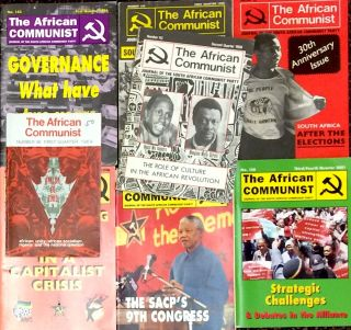 The African Communist [67 different issues