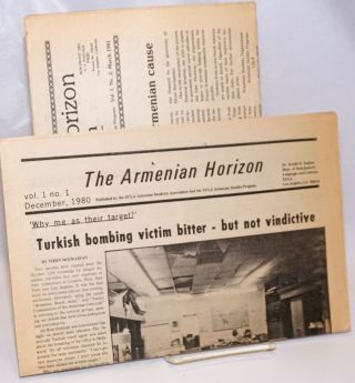The Armenian horizon [issues 1 and 2