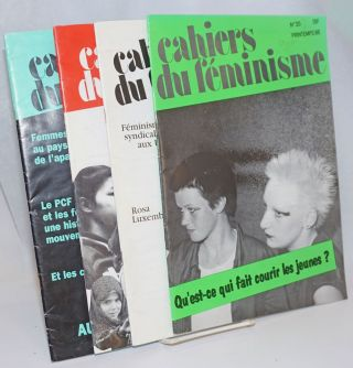 Cahiers du Feminisme [4 issues