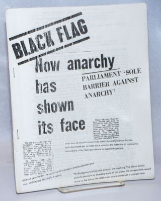 Black Flag: Bulletin of the Anarchist Black Cross. Vol. 2 no. 13 (30 July 1972