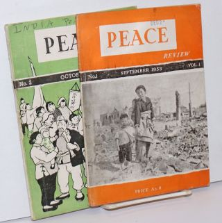 Peace review (first two issues