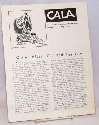 CALA Newsletter. May 1972