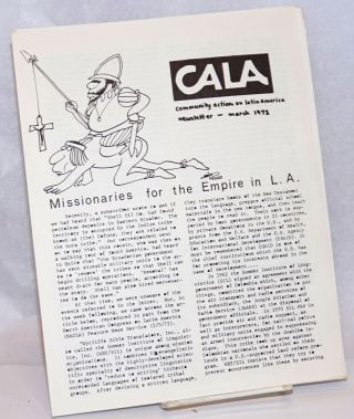 CALA Newsletter: March 1972