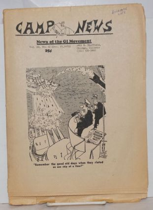 Camp News. Vol. III, no. 12 (Dec. 15, 1972