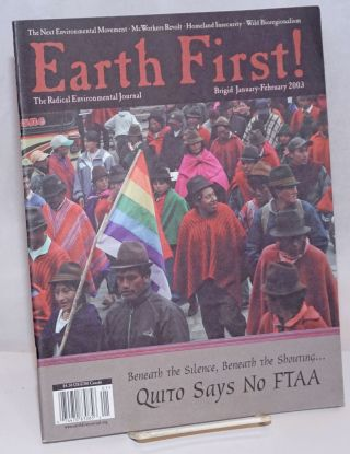Earth First! The radical environmental journal; Brigid, January-February 2003