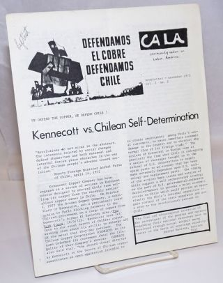 CALA Newsletter. Vol. 2 No. 2, November 1972