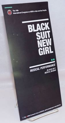 Black Suit New Girl: musical performance 26 August, 2011, Bexco, Busan; The 10th International...