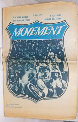The Movement, Vol.5, No.4, May 1969. Joseph Blum, Arlene Eisen Bergman, eds