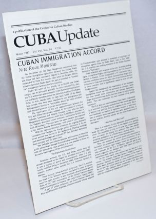 Cuba Update; Vol. XIV, No. 3-4, Summer 1993; Focus on: Biotechnology, Health and Medicine, Splits...
