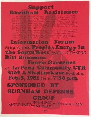 Support Burnham resistance... Information forum [handbill