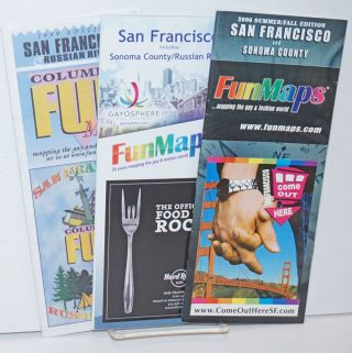 Columbia FunMaps: San Francisco & Sonoma County/Russian River three maps;1999 edition, 2006...