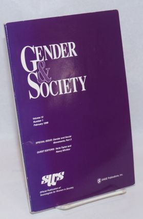 Gender & Society: vol. 13, #1, February 1999: special issue; Gender & Social Movements part two....