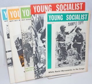 Young Socialist [five issues]. Barry Sheppard, eds Doug Jenness, Volume 8 Number 2-Volume 8...