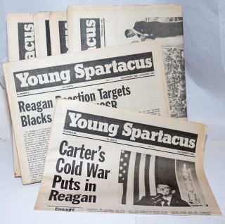 Young Spartacus [7 issues of the newspaper]. Bonnie Brodie, ed