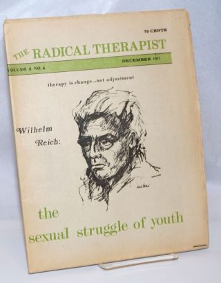 The radical therapist: Volume 2 No. 4, December 1971
