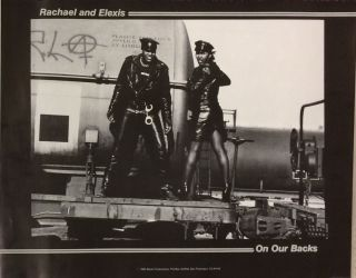 Rachael and Elexis / On Our Backs [poster