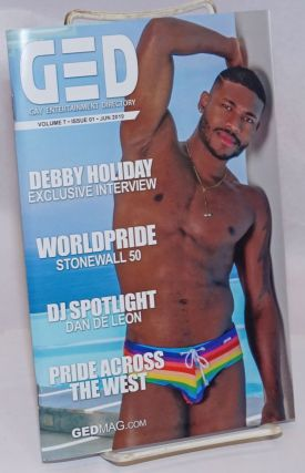 GED: Gay Entertainment Directory vol. 7, #01, June, 2019: Debby Holiday interview. Michael Westman