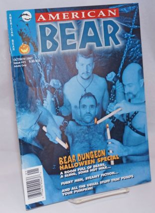 American Bear: vol. 4, #2, whole #21, October/November 1997; Bear Dungeon Halloween Special. Tim...