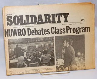 New solidarity. Vol. 4, no. 27 (October 19, 1973