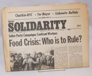 New solidarity. Vol. 4, no. 29 (Nov. 2, 1973). National Caucus of Labor Committees