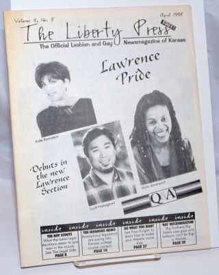 The Liberty Press: the official Lesbian & Gay Newsmagazine of Kansas vol. 4, #8, April 1998;...