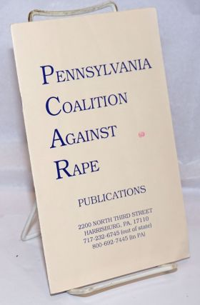 Pennsylvania Coalition Against Rape Publications [catalog
