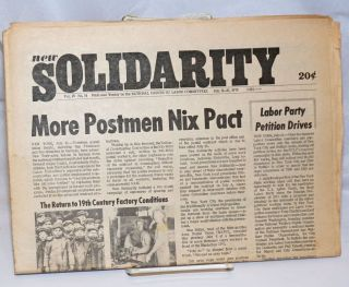 New solidarity. Vol. 4, no. 14 (July 16-20, 1973). National Caucus of Labor Committees