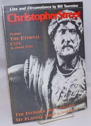 Christopher Street: vol. 13, #4, June 1990, whole #148; The Eternal City by David Foley. Charles...