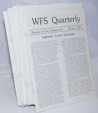 WFS Quarterly [28 issues]. Terese M. Floren