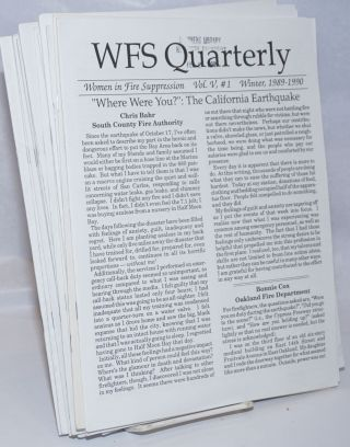 WFS Quarterly [28 issues]