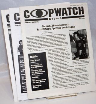 Copwatch Report [four issues