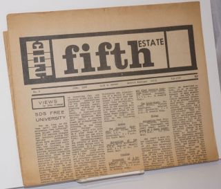 The Fifth Estate, No. 9, June 1966. Harvey Ovshinsky, Peter Werbe