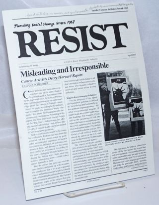 Resist, a call to resist illegitimate authority. Funding social change since 1967. Vol. 6 # 3,...