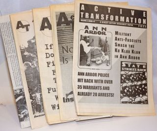 Active Transformation: a direct action anarchist newspaper [five issues