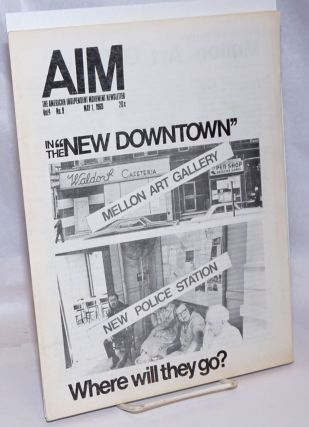 AIM: the American Independent Movement newsletter. Vol. 4 no. 9 (May 1, 1969