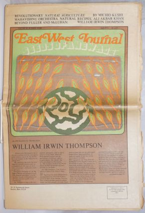 The East West Journal, April, 1973, Vol. 3, No. 4. Robert Hargrove