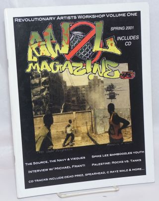 AWOL magazine; Revolutionary artists workshop volume one, spring 2001