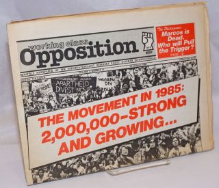 Working Class Opposition. Volume 3, Number 21, December 1985