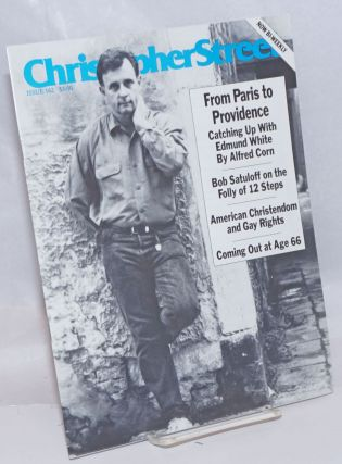 Christopher Street: vol. 14, #6, September 1991, whole #162; From Paris to Providence: Edmund...