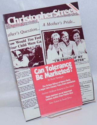 Christopher Street: vol. 14, #7, October 14 1991, whole #163; Can Tolerance be marketed? Charles...